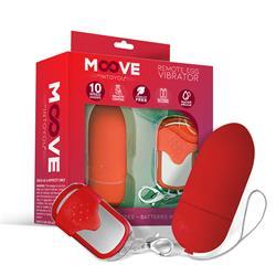 Remote Egg Vibrator Red