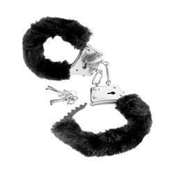 Fetish Fantasy Series  Beginners Furry Cuffs-Blac