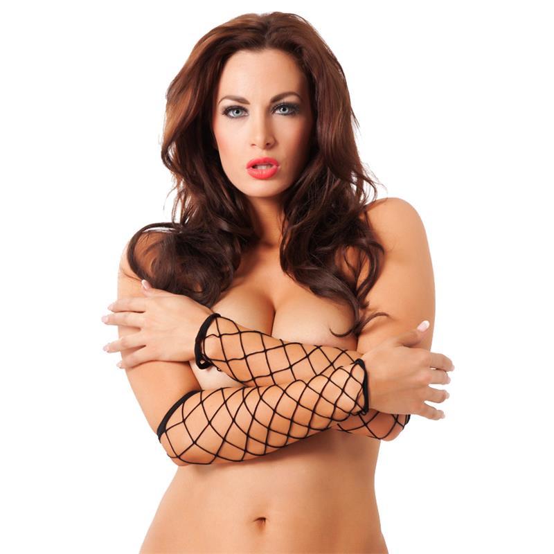 Rimba Amorable Net Gloves Black One Size