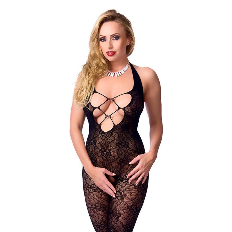 Rimba Amorable Catsuit Black One Size