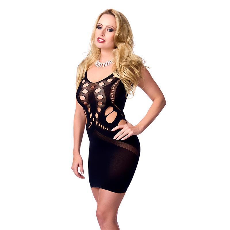 Rimba Amorable Mini Dress Black One Size
