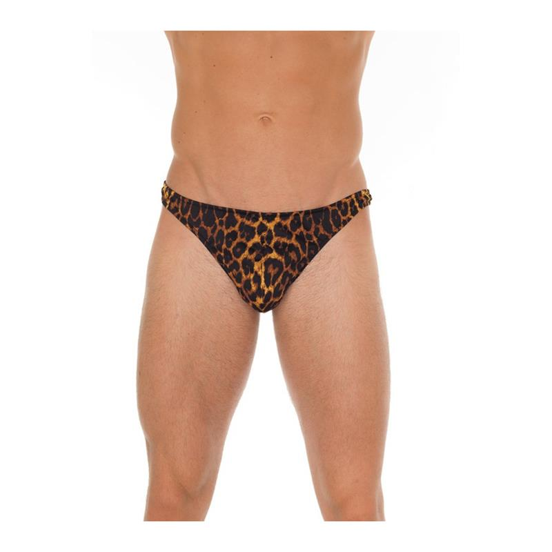 String Leopard One Size