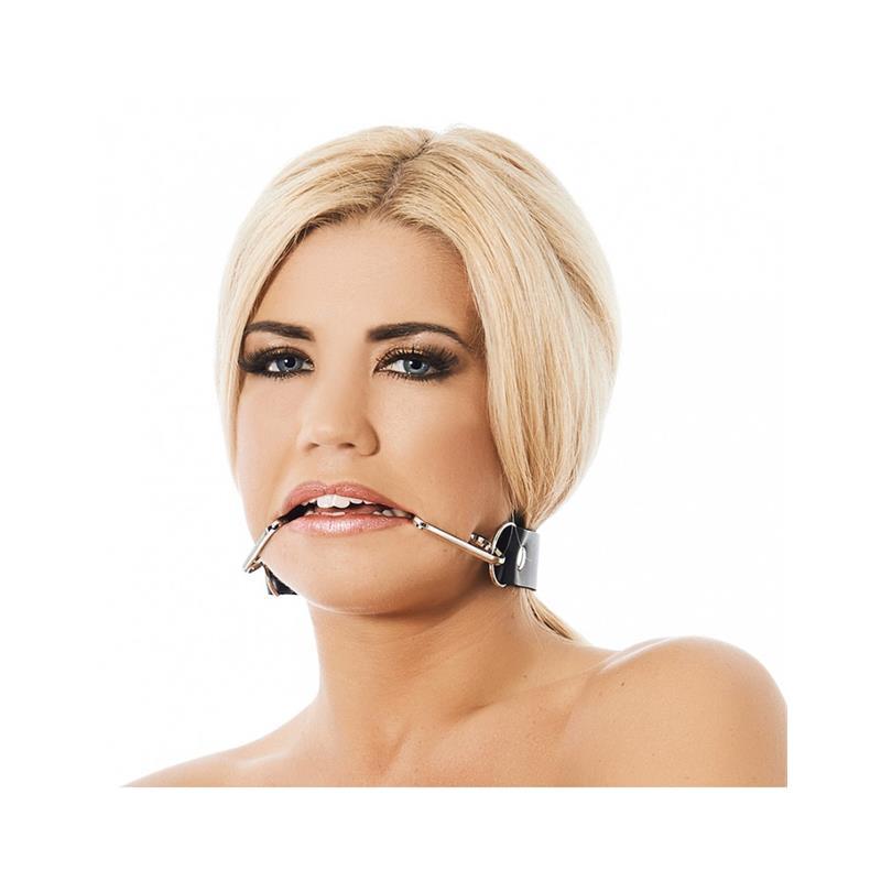 Mouthgag with smile hooks-Adjustable