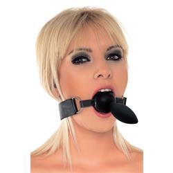 mouthgag with dildo