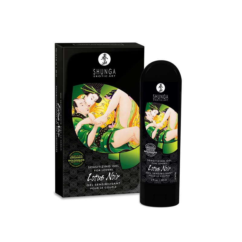 Shunga Gel Sensitizer Lotus Noir