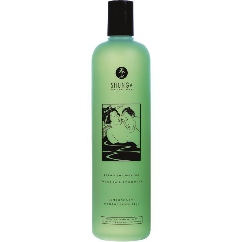 Shunga Bath Gel Mint Aroma