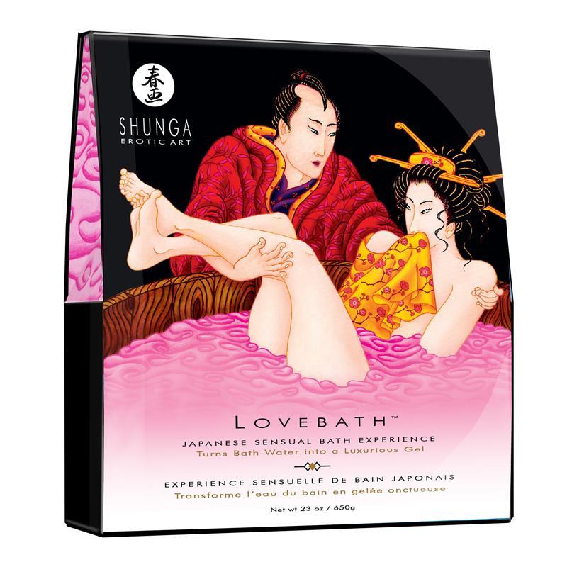 Shunga Bath Salts Dragon Fruit