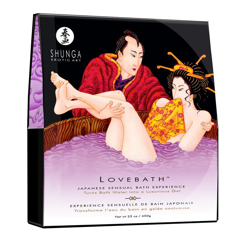 Shunga Bath Salt Sensual Lotus