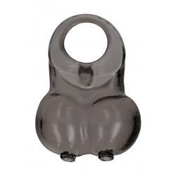 No. 73 - Soft Squeeze Scrotum Ring - Black