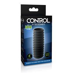 Sir Richards Control Ribbed Silicone Erection Enh