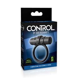 Sir Richards Control Vibrating Silicone C-Ring