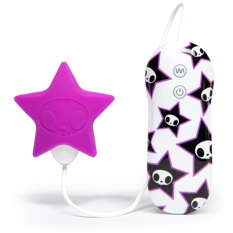 tokidoki 10 Function Silicone Pink Star Clitoral Vbrator
