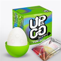 Up & Go Bumpy Fun Egg Green