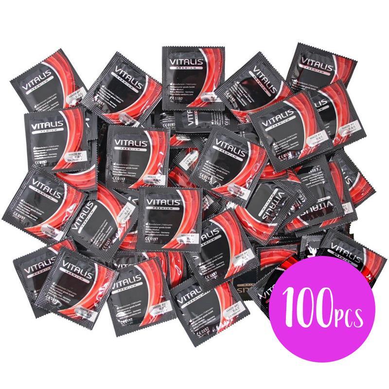 Vitalis 100 Unts Strawberry Red Colour