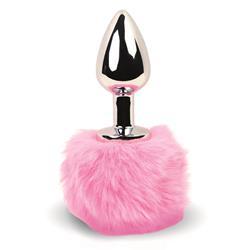Bunny Tail Butt Plug Pink