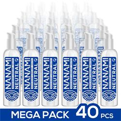 Pack de 40 Nanami Water Based Lubricant Neutral 1.