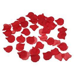 100 Pétalos de Color Rojo