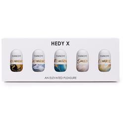 Hedy X Masturbator 5-Pack Mixed Textures
