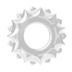 POWER PLUS Cockring-Clear