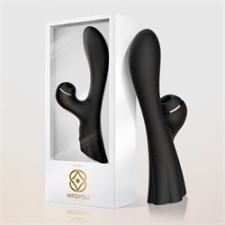Feliona G-Spot Suction Touch Control Vibrator Blac