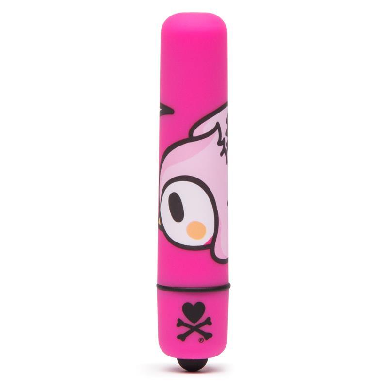 tokidoki Single Speed Mini Bullet Vibrator Pink Heard Bird