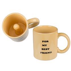 Mug, penis, For my best friend, ca. 9, 5 x 8 cm, s