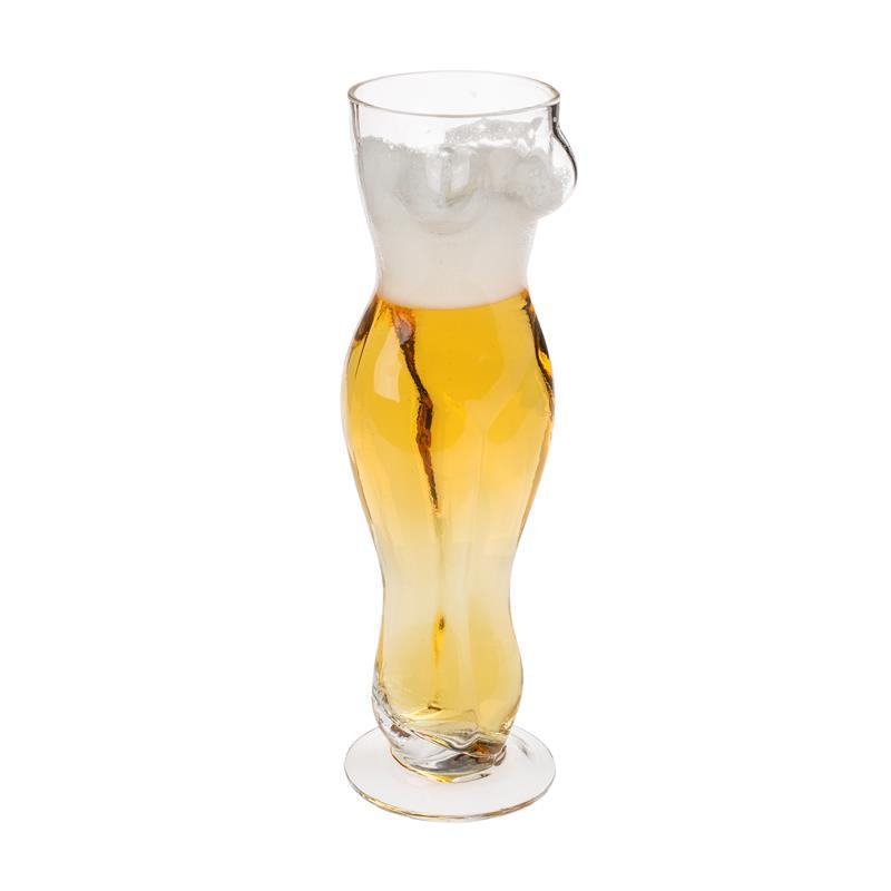 Jar Glass Female Torso 500 ml