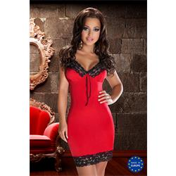 NATASHA DRESS red XXL/XXXL - Avanua