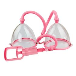 Breast pump, double cups