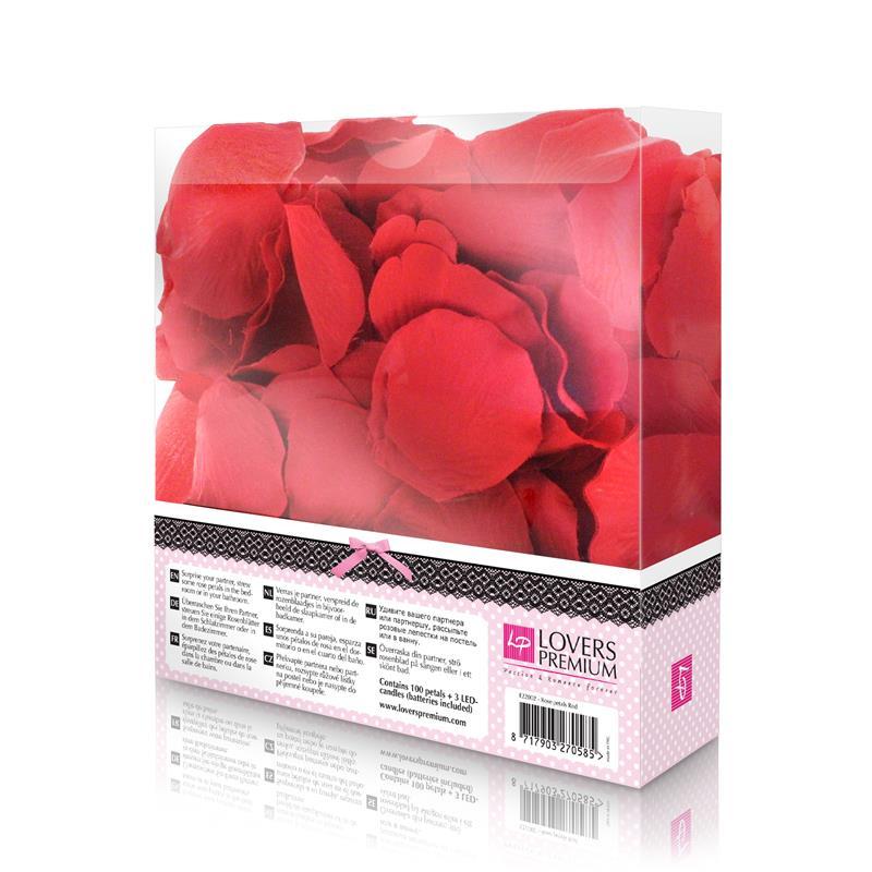 Loverspremium - Cama de Rosas Color Rojo (2)