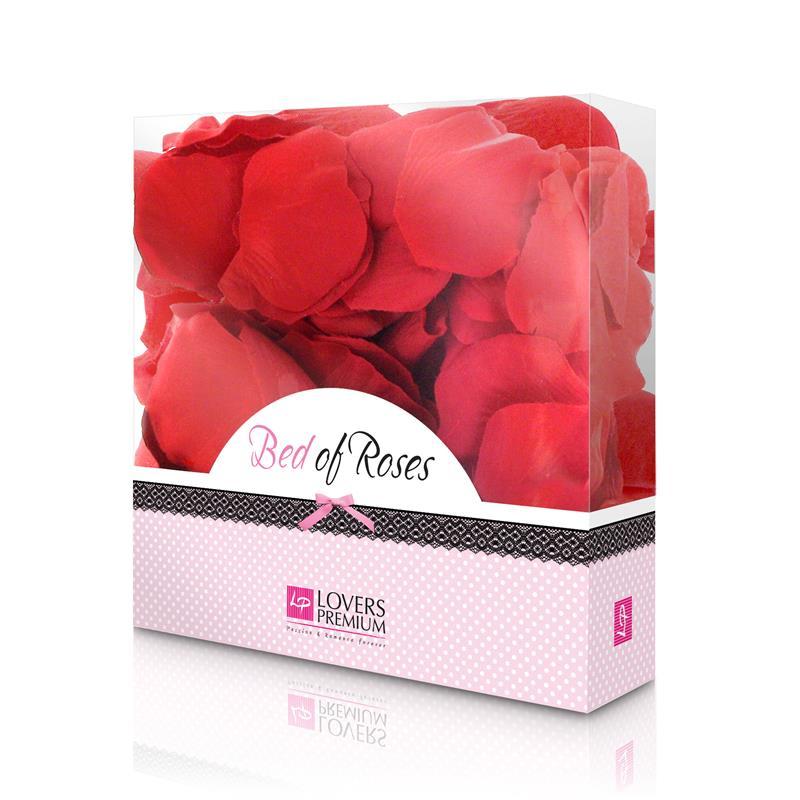 Loverspremium - Cama de Rosas Color Rojo (3)