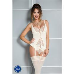 CONNIE CORSET cream S/M - Casmir