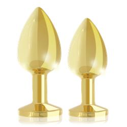 Rs - soiree - booty plug luxury set 2x gold