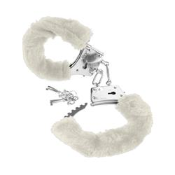 Fetish Fantasy Series Beginners Furry Cuffs-Whit