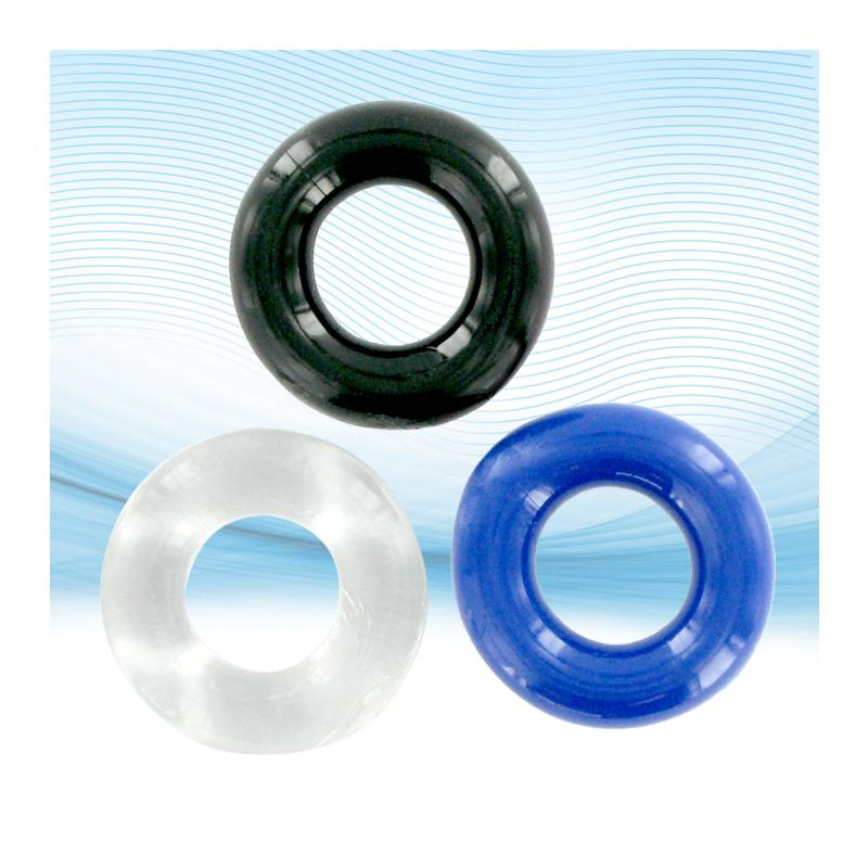 Xlsucker Stretchy Cockrings Pack of 3