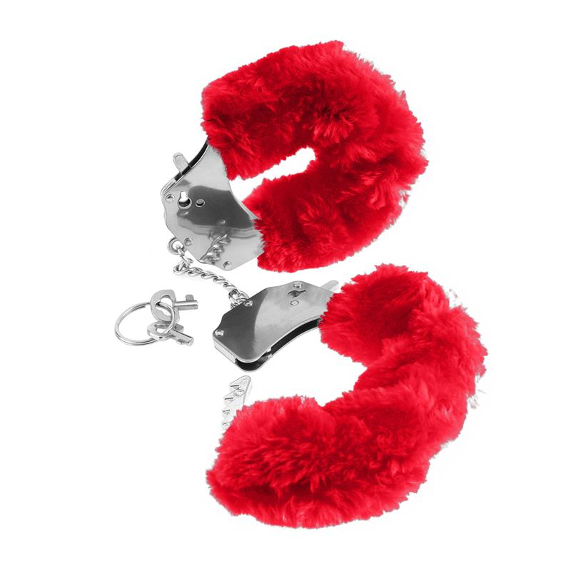 Fetish Fantasy Series Original Furry Cuffs Red