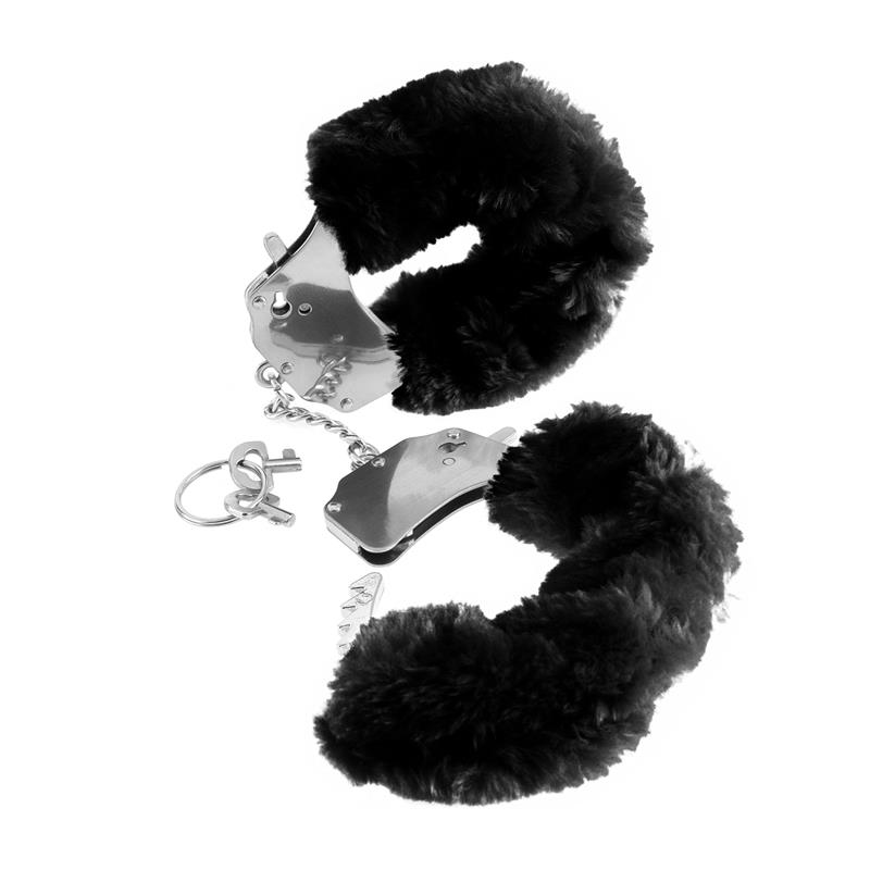 Fetish Fantasy Series Original Furry Cuffs Black