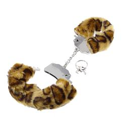Fetish Fantasy Series Original Furry Cuffs-Cheeta