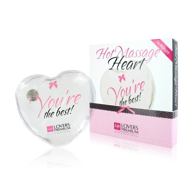Loverspremium - Hot Massage Heart XL The Best