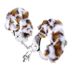 Fetish Fantasy Series Original Furry Cuffs-Leopar