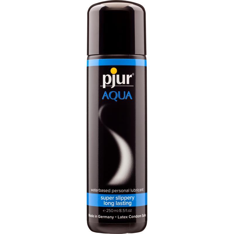 Pjur Aqua Lubricante Anal 250 ml de PJUR #satisfactoys