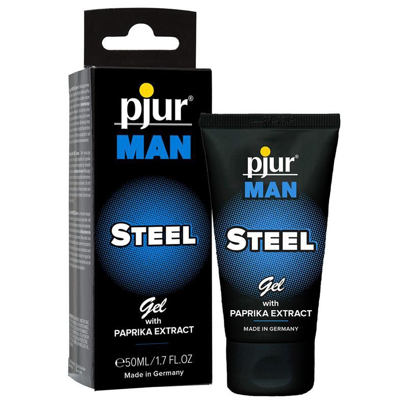 Pjur Man Gel Steel 50 ml de PJUR #satisfactoys