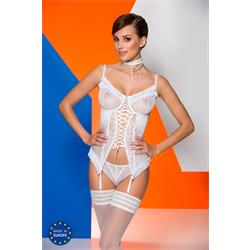 CATALINA CORSET white S/M - Avanua