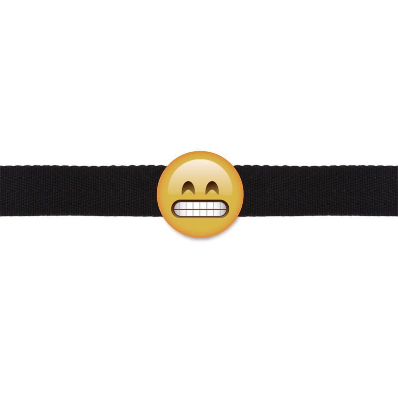 Shots S-Line Grinning Emoji