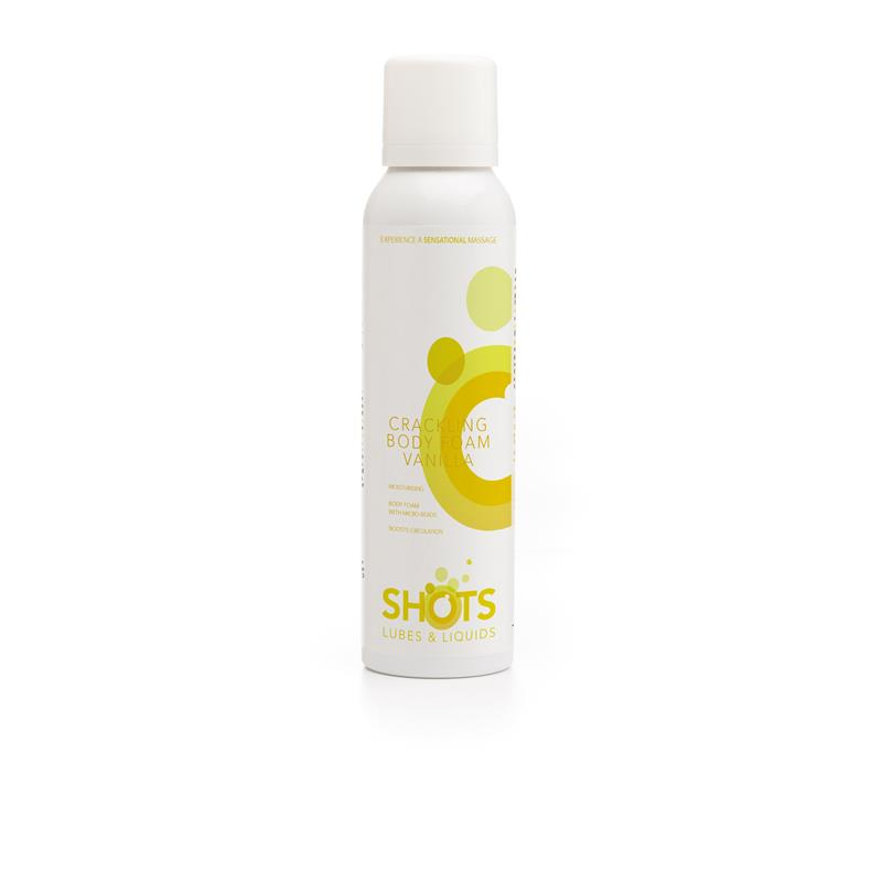 Shots Lubes & Liquids Crackling Body Foam Vanilla