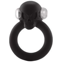 Shadow Skull Cockring - Black