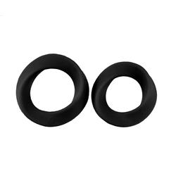 Infinity - L and XL Cockring - Black