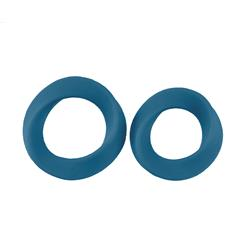 Infinity - L and XL Cockring - Blue