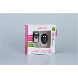 10 Speed Remote Vibrating Egg - Small - Black
