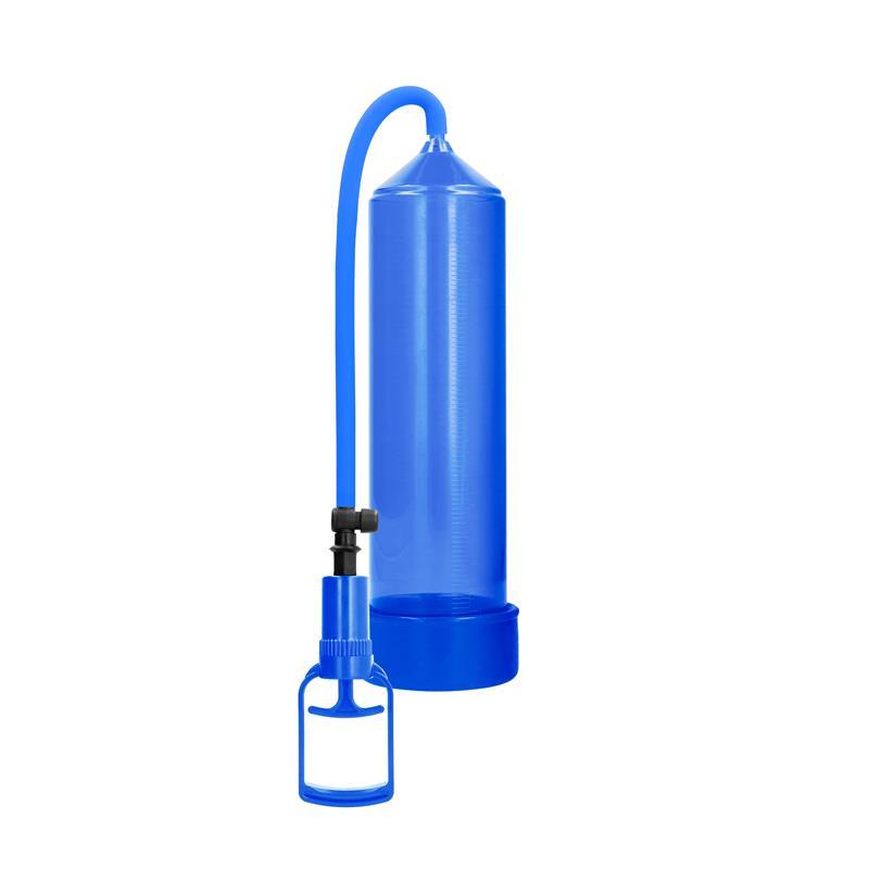 Shots Pumped Succionador de Pene para Principiantes Comfort Color Azul de PUMPED #satisfactoys